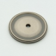 Antique Nickel Circle Back Plate