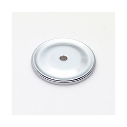 Polished Chrome Circle Back Plate