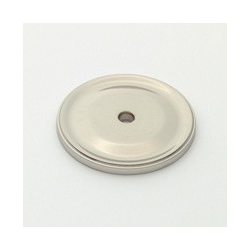Polished Nickel Circle Back Plate