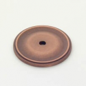 Weathered Copper Circle Back Plate