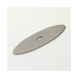Weathered Nickel Oval Back Plate