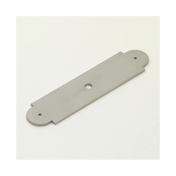 Satin Nickel Arch Back Plate