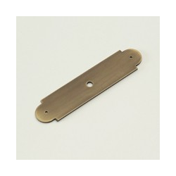 Weathered Brass Arch Back Plate
