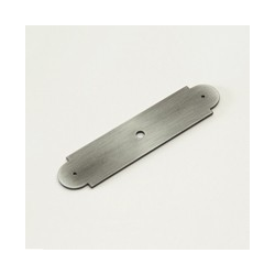 Weathered Pewter Arch Back Plate
