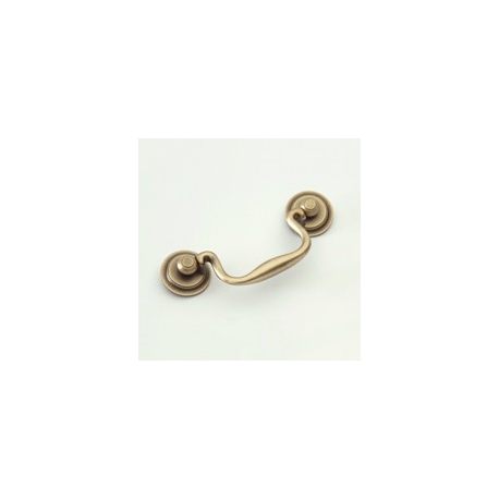 """Antique Brass Classic Bail Pull 3.5"""""""