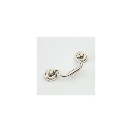 """Polished Nickel Classic Bail Pull 3.5"""""""