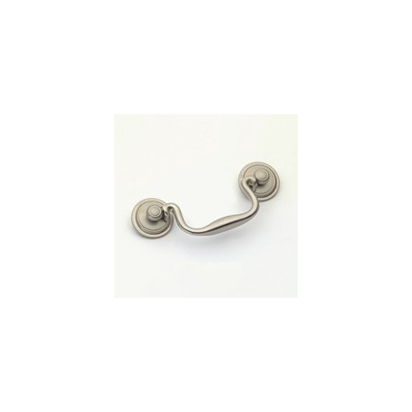 Satin Nickel Classic Bail Pull 3.5""