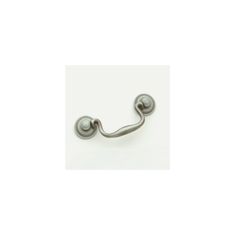 """Weathered Antique Nickel Classic Bail Pull 3.5"""""""
