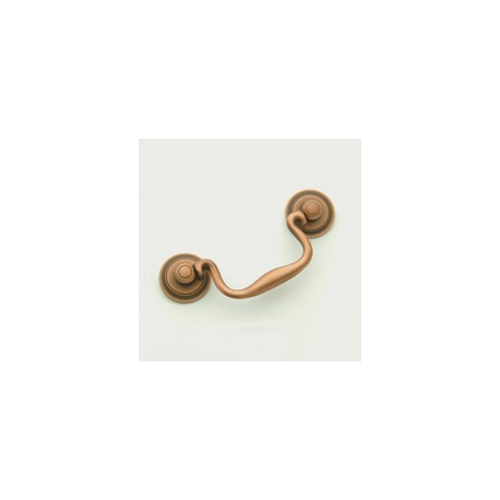 """Weathered Copper Classic Bail Pull 3.5"""""""