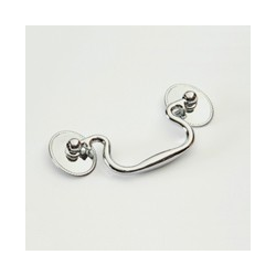 Polished Nickel Roped Bail Pull