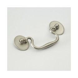 Weathered Nickel Roped Bail Pull