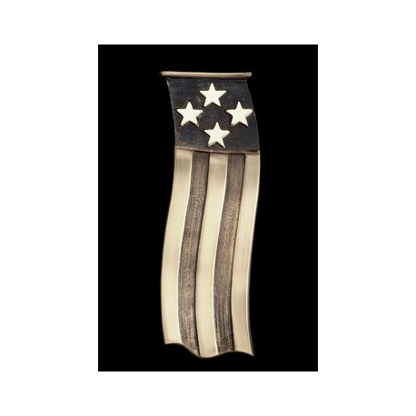 American Flag Door Knocker