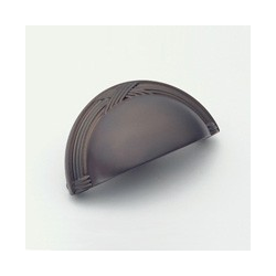 Oil-Rubbed Bronze Ribbon Cup Pull