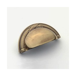 Polished Antique Ribbon Cup Pull