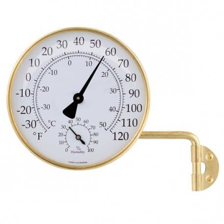 Weather Station in Brass