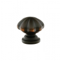 Oil-Rubbed Bronze Melon Knob 1.25""