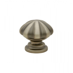 Pewter Melon Knob 1.25""