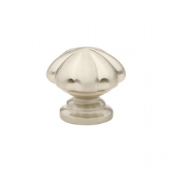 Satin Nickel Melon Knob 1.75""