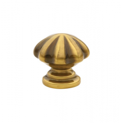 French Antique Melon Knob 1.75""