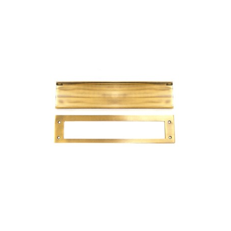 Mail Slot, Lifetime FInish Brass