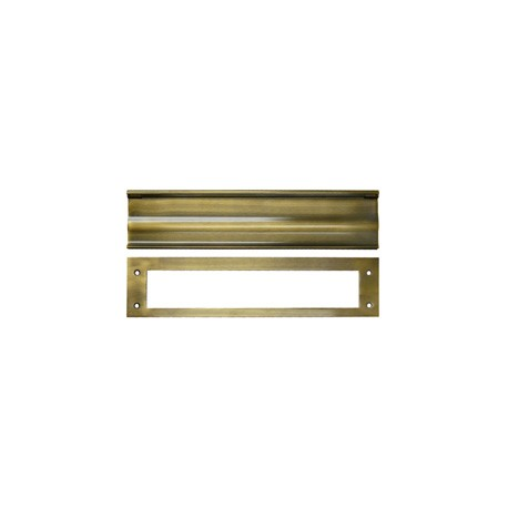 Mail Slot, ANTIQUE BRASS