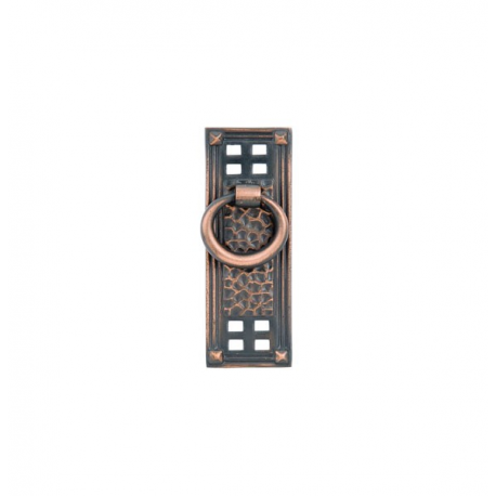 Oil-Rubbed Bronze Vertical Ring Pull