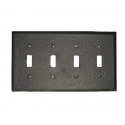 Forged Iron Switchplate - Quad
