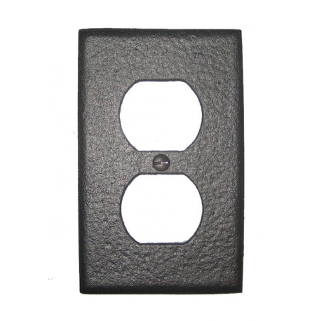 Forged Iron Outlet Cover