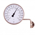 Outdoor Thermometer in Copper