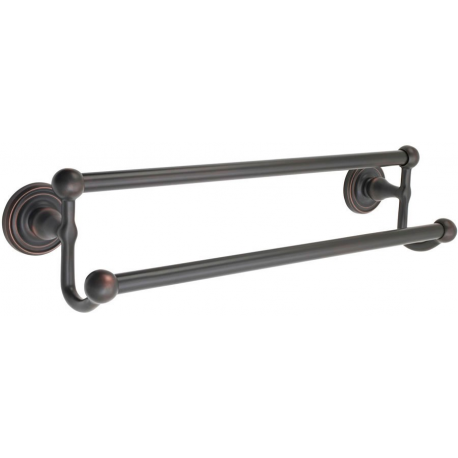 Traditional Double Towel Bar 18""
