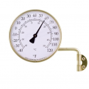 Outdoor Thermometer in Brass