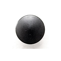 Simple Black Iron Knob- Sm