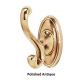 Traditional Double Robe Hook
