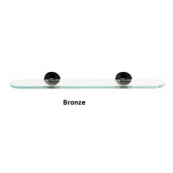 Contemporary Glass Shelf with Brackets