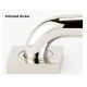 Contemporary Grab Bar Brackets Only