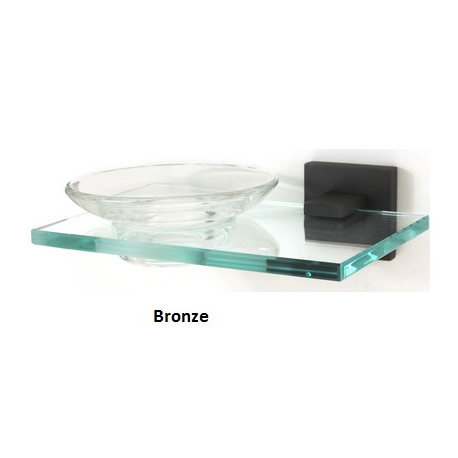 Contemporary Soap Holder with Dish