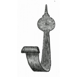 Wrought Iron Rifle Hooks