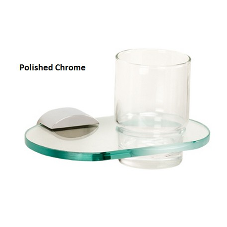 Contemporary Tumbler Holder with Tumbler