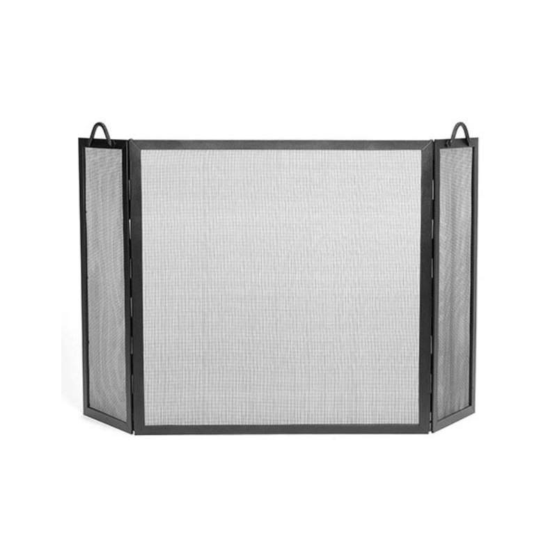 Tri Fold Fireplace Screen Rope Detail S N Knockers - Tri Fold Fireplace Screen - Best Fireplace 2017