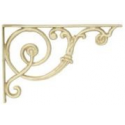 Antique White Shelf Bracket