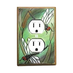 Dragonfly Outlet Switch Plate