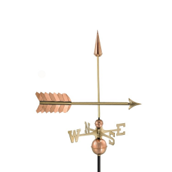 Arrow Weathervane, Polished Copper