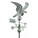 Smithsonian Eagle Weathervane, Blue Verdi
