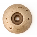 Iron Rustic Round Back Plate