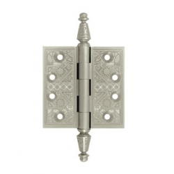 "Ornate Chrome Hinge 3.5""X 3.5"""