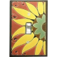 Sunflower Single Toggle Switch Plate