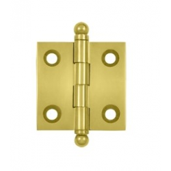 "Polished Brass 1 1/2""X 1 1/2"" Cabinet Hinge"