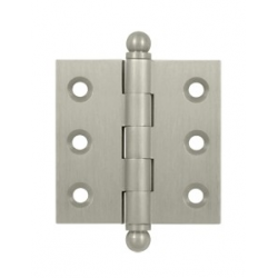 "Satin Nickel 2""X 2"" Cabinet Hinge"