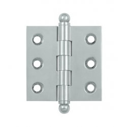 "Chrome 2""X 2"" Cabinet Hinge"