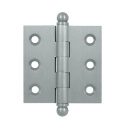 "Brushed Chrome 2""X 2"" Cabinet Hinge"